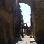 Civita side street