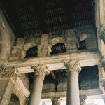 Notice those columns and arches